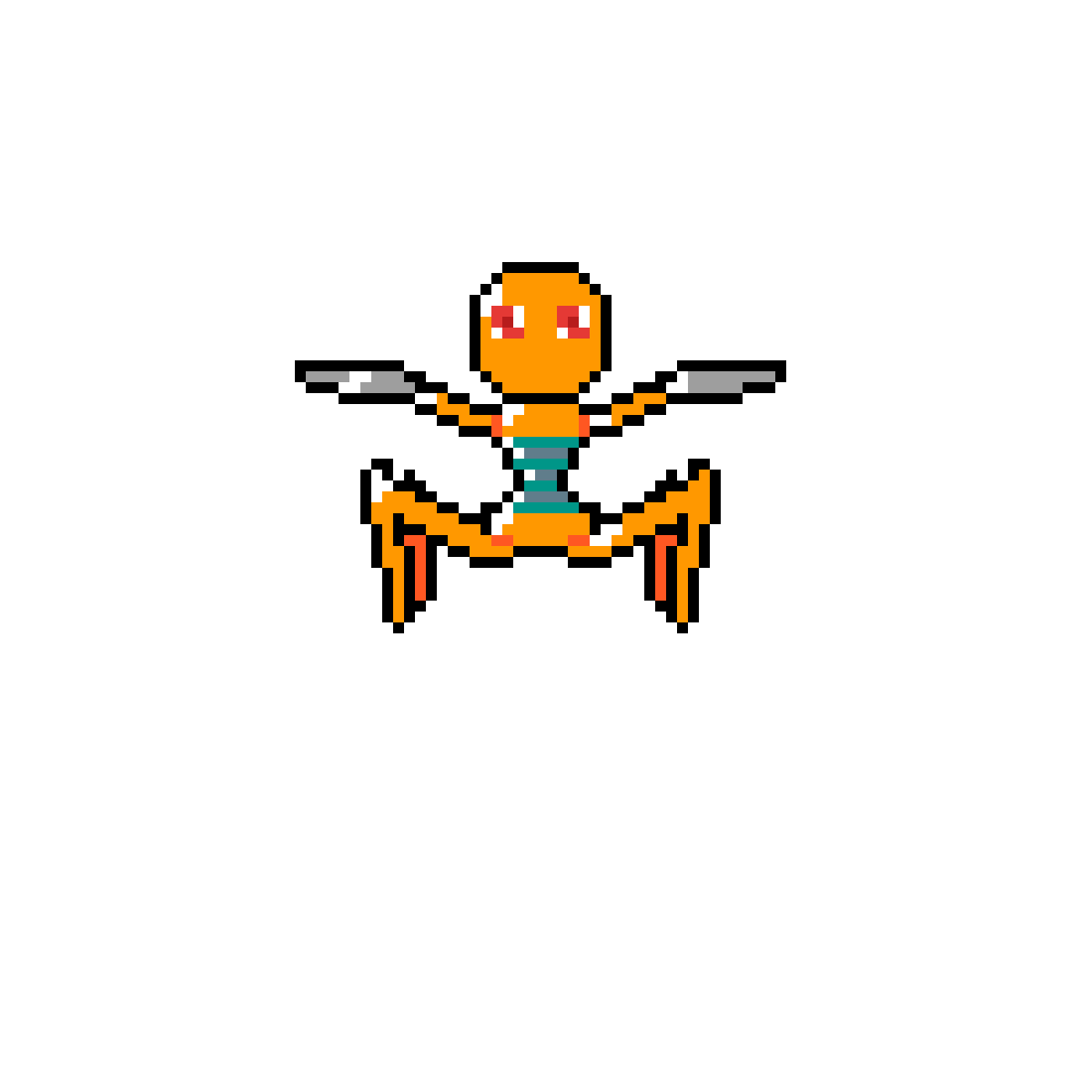 death robot.pixil by nessm8