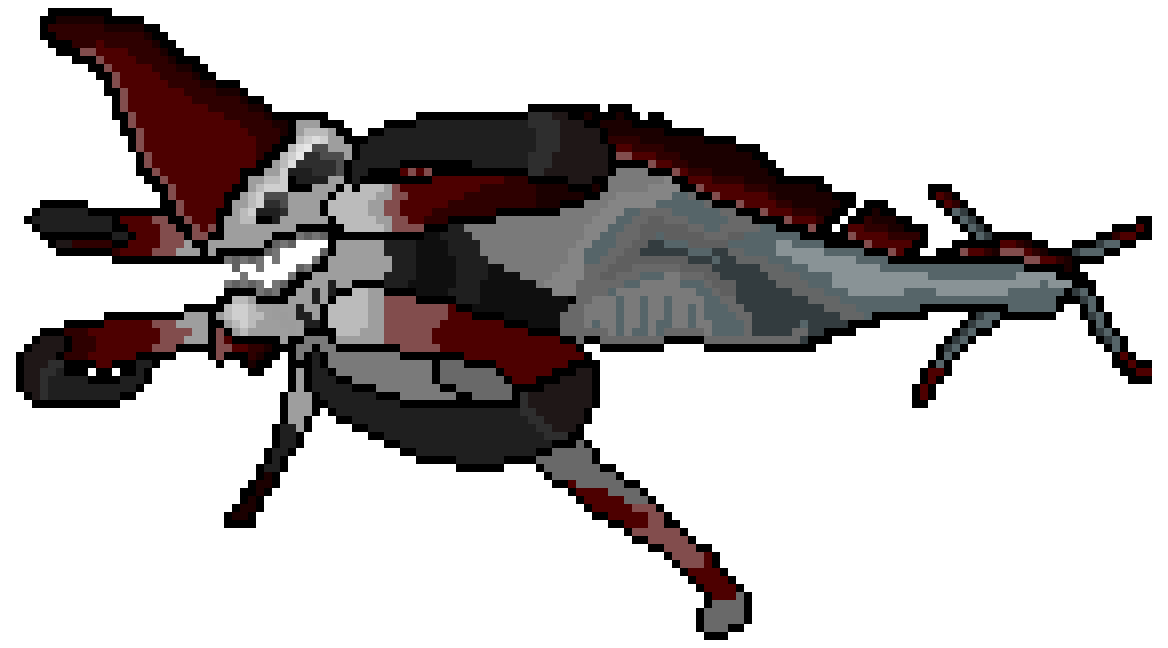 Pixilart - Reaper Leviathan by Anonymous