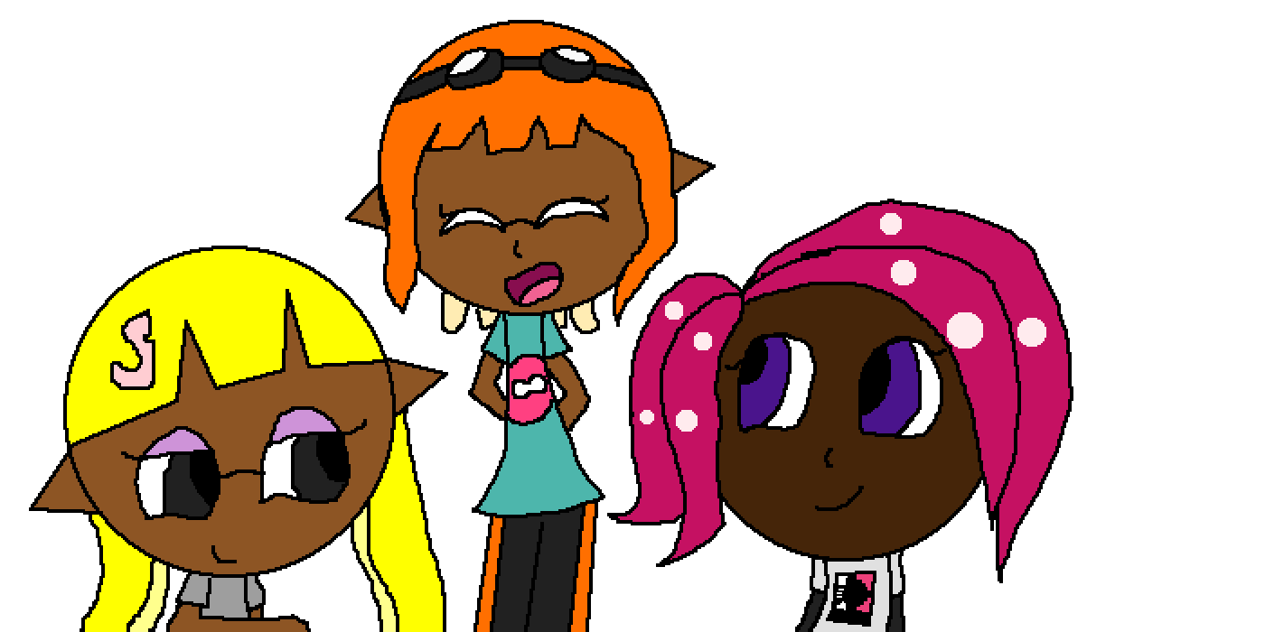 Agent 3, 4, and 8 by lc037739