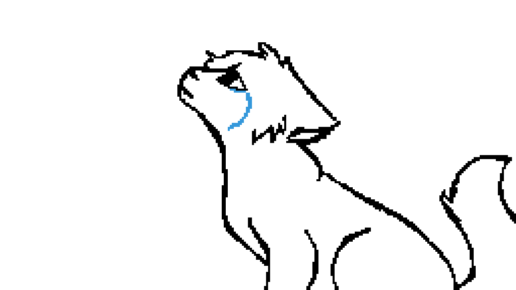 Pixilart Crying Cat Base By Honksly