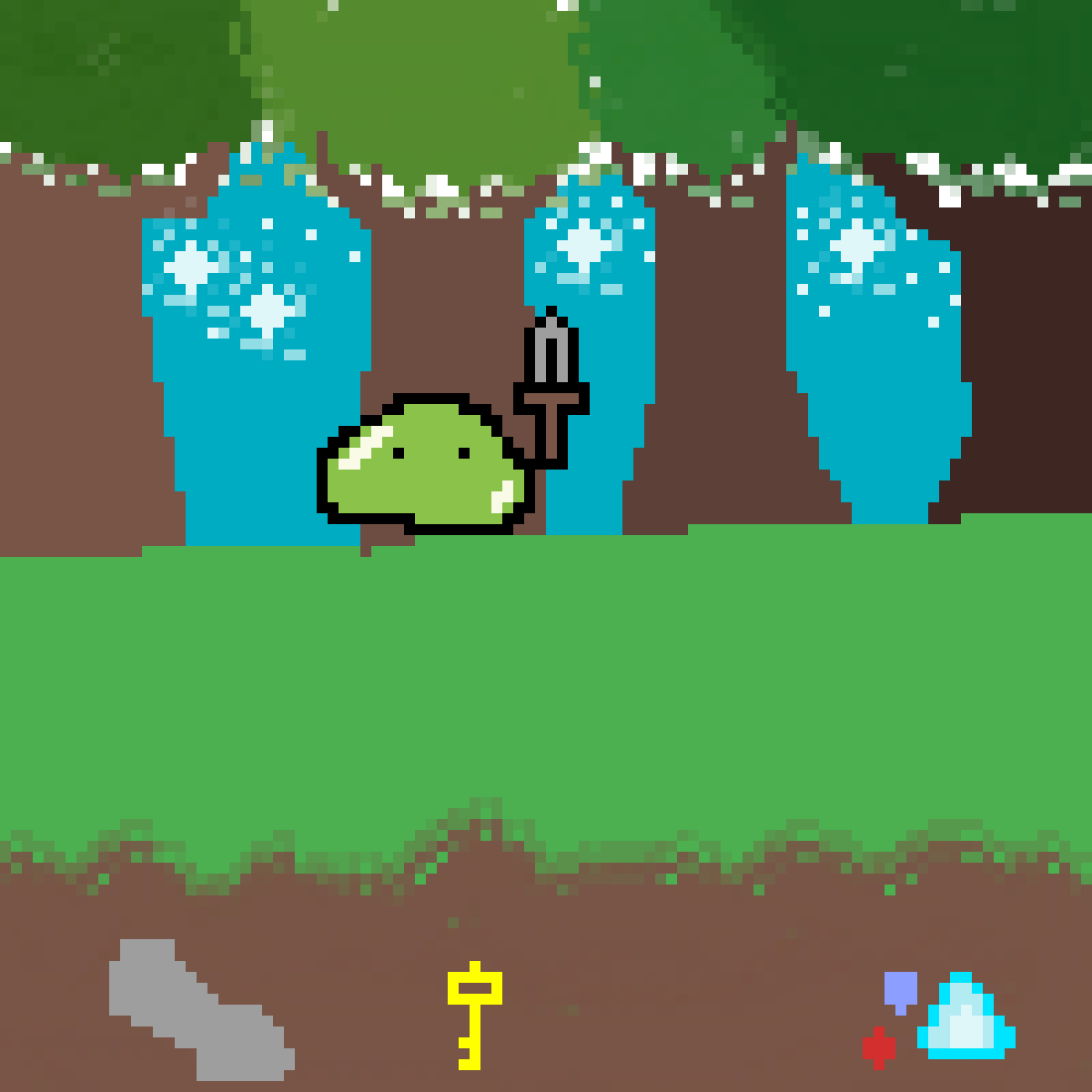 Adventure slime! by slowbro
