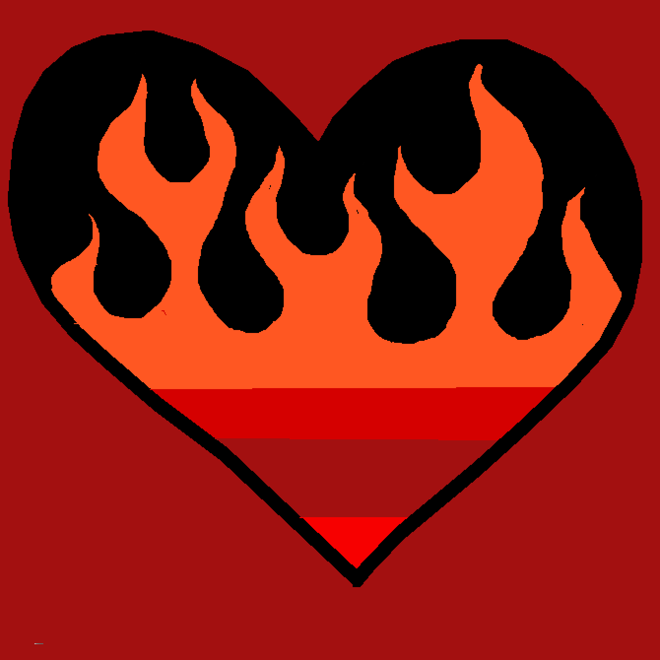 my hearts on fire  by 12614853