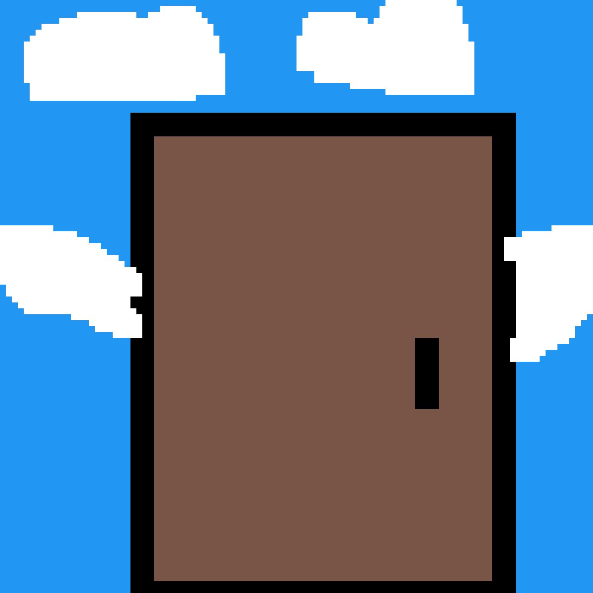 flying door by riley