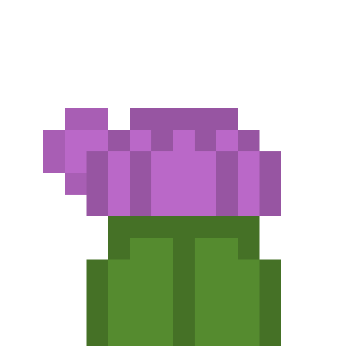 16x16 plant by Jrwolfen