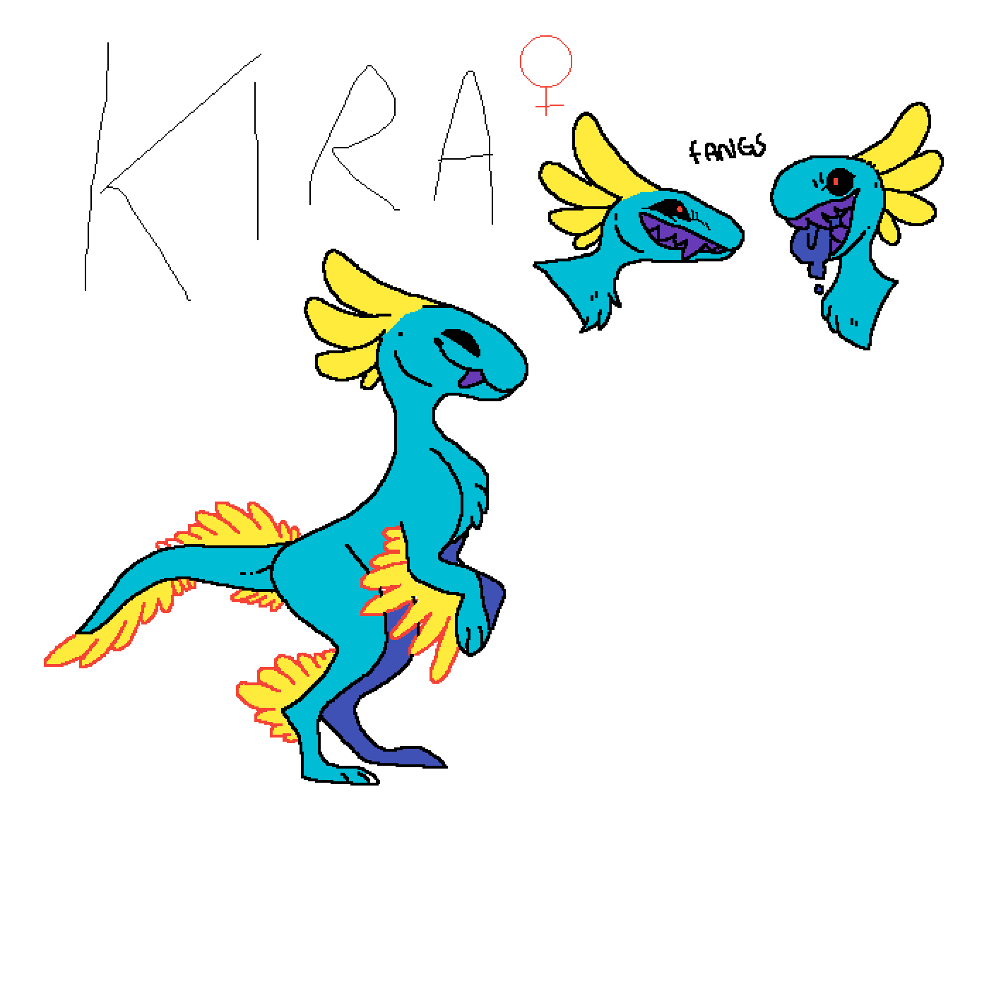 pixilart kira the mochi raptor by serenitystar pixilart kira the mochi raptor by