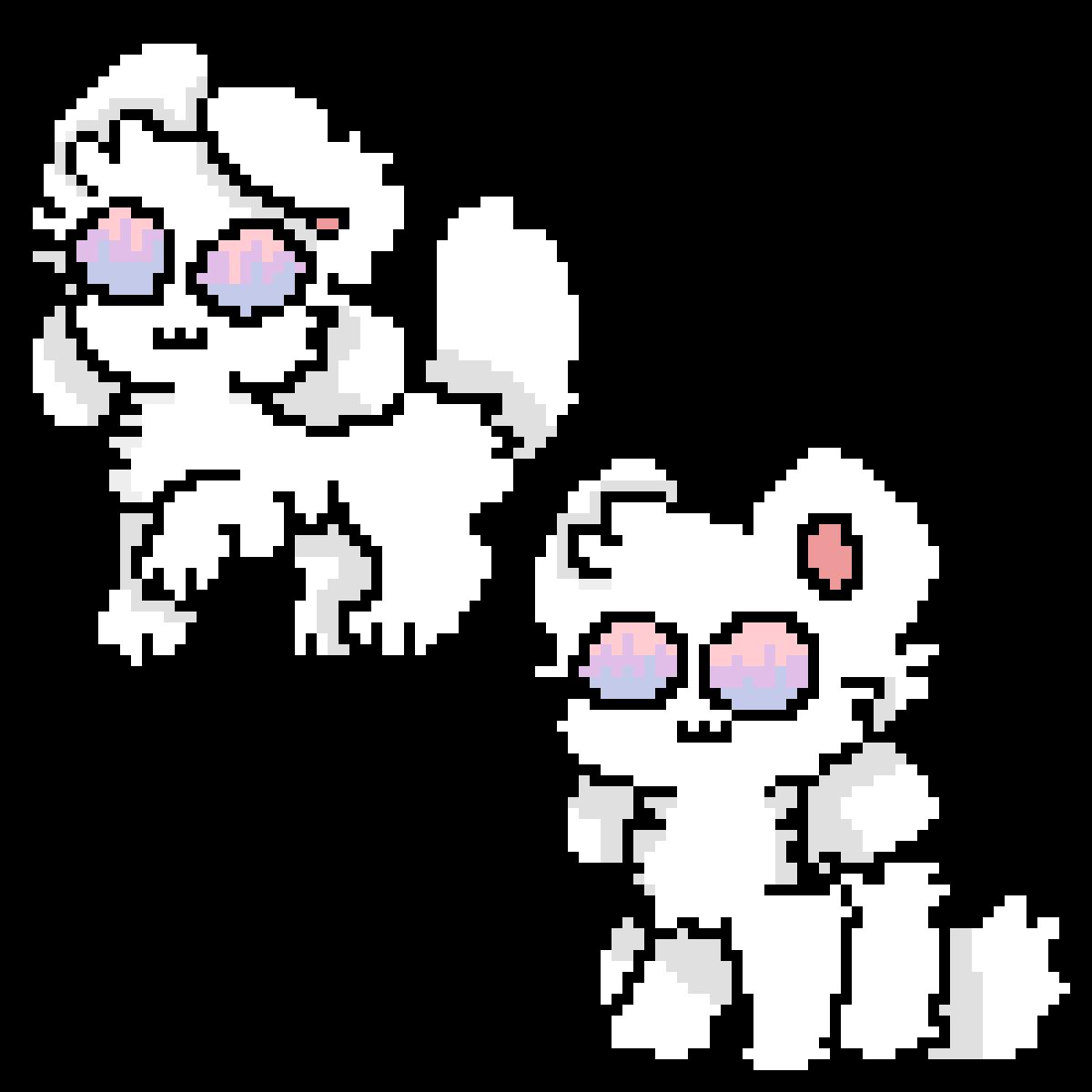 random kittydog stuff by krama-dont-care