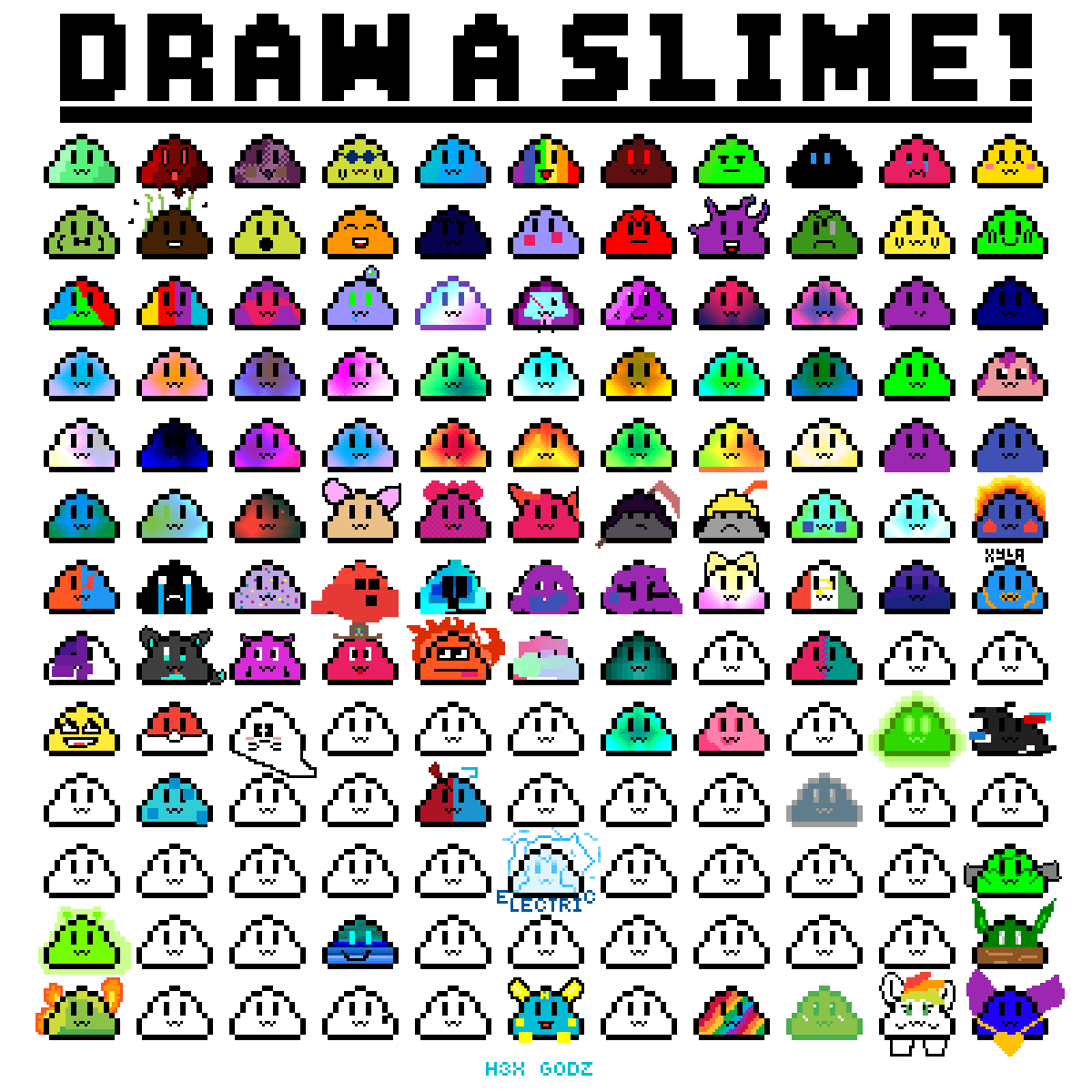 Draw your slime  by H3X-Godz