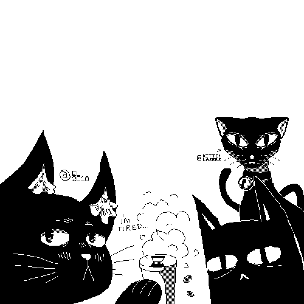 Cat Collab by KittenLasers