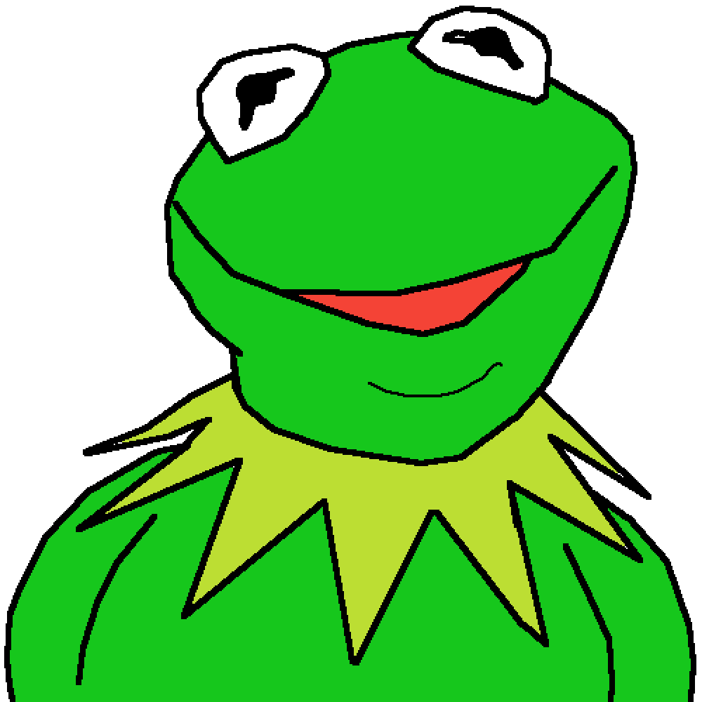 kermit the frog 2 by real-chungus