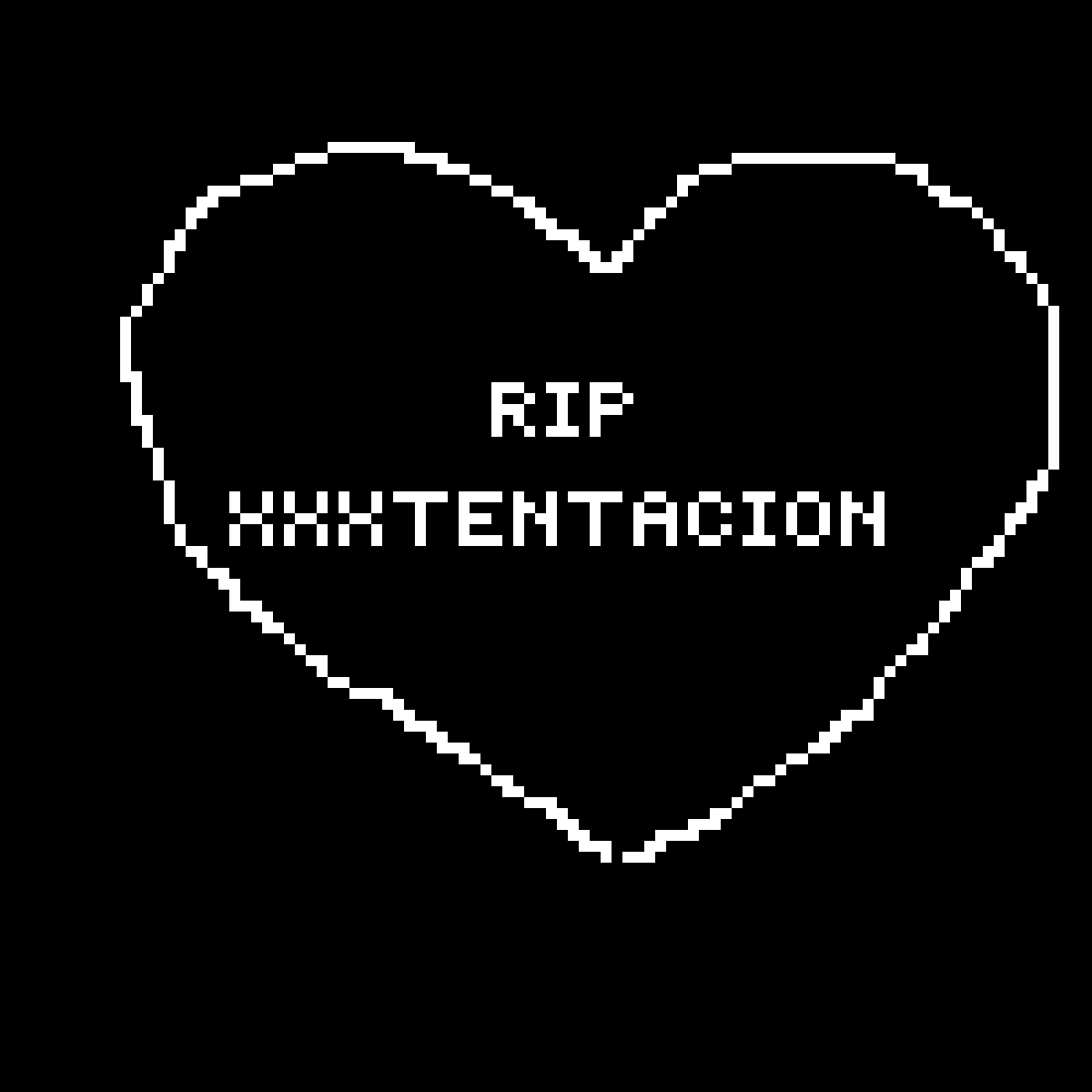 R.I.P. xxxtentacion by MiracleMerch