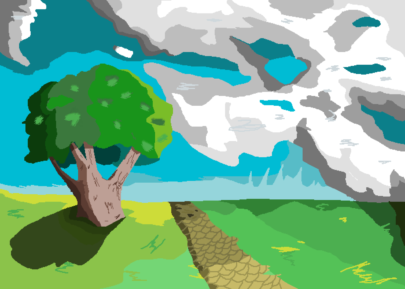 A landscape ig by Natsu-Midoriya