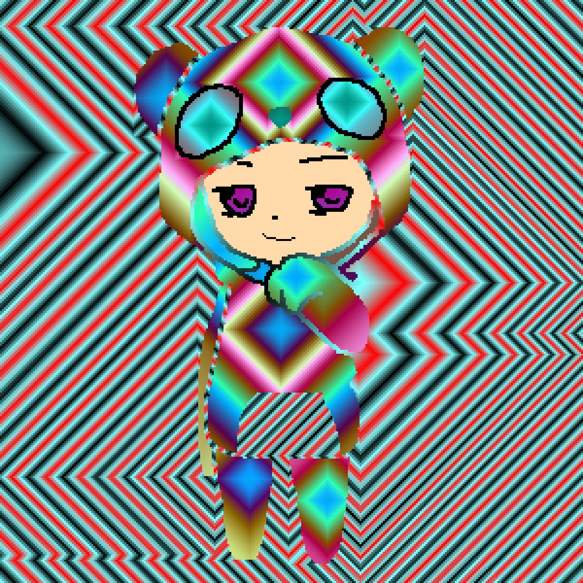 Rainbow Girl #2 by Oliviaolivia