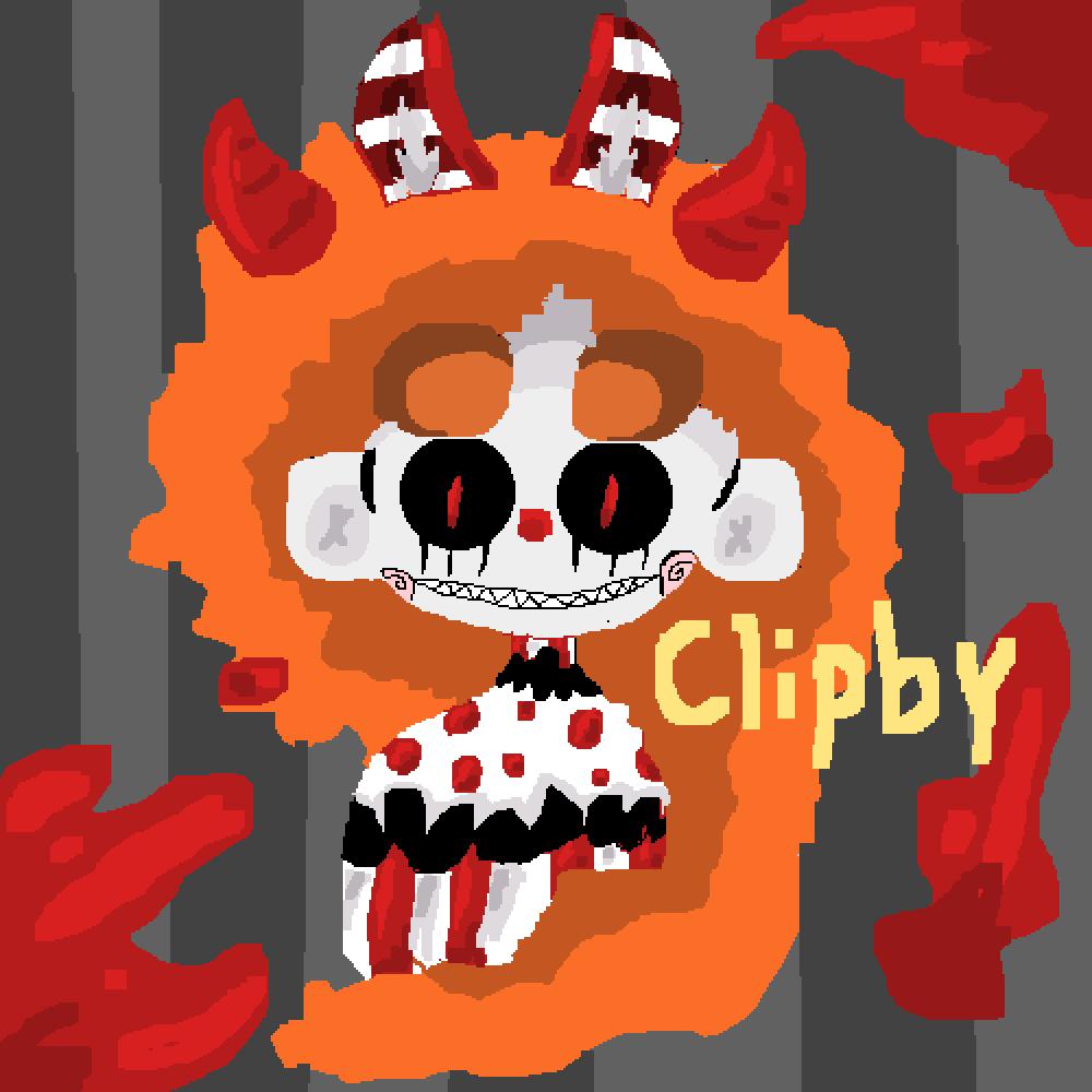 (oc) Clipby the Clown