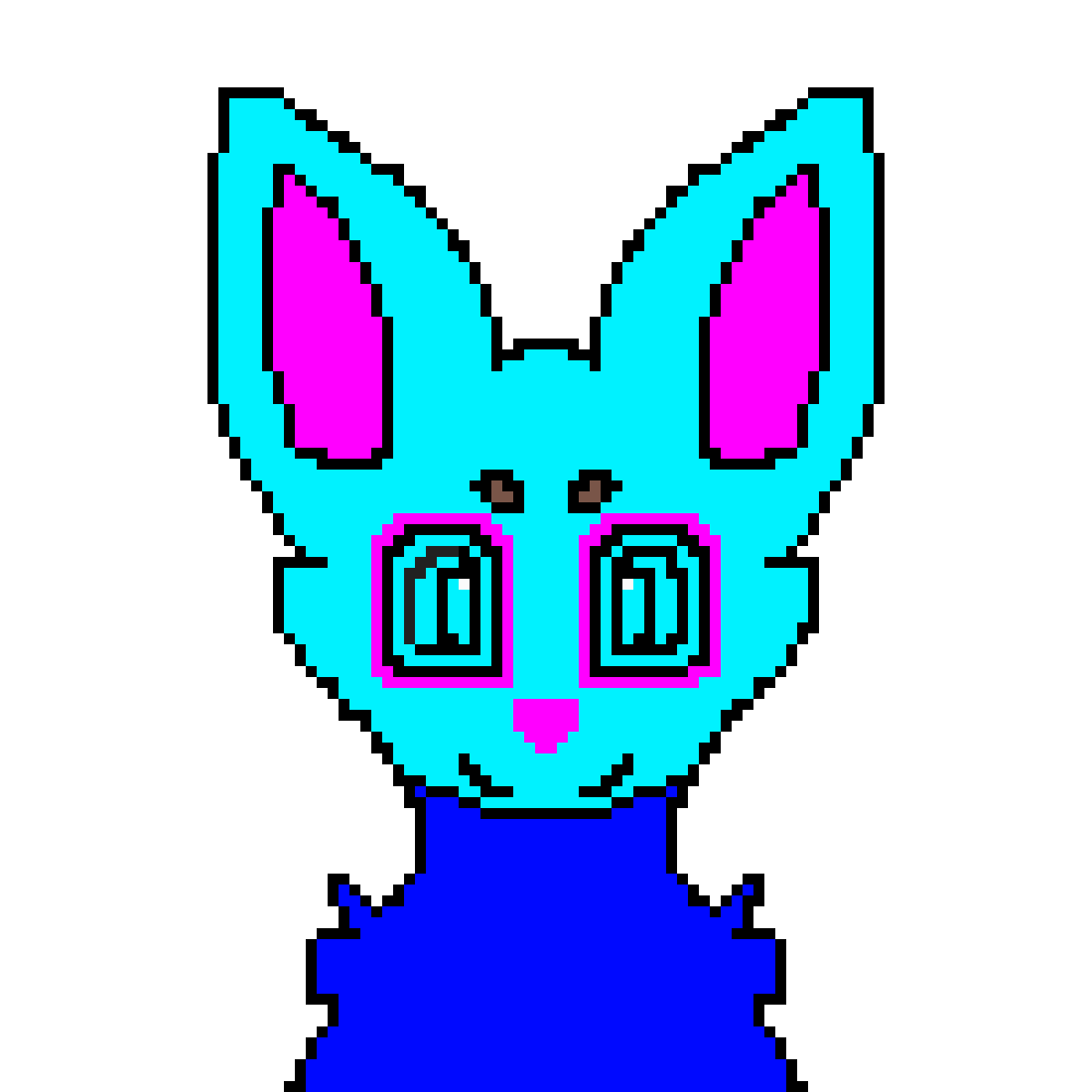 fox by unicornpanda
