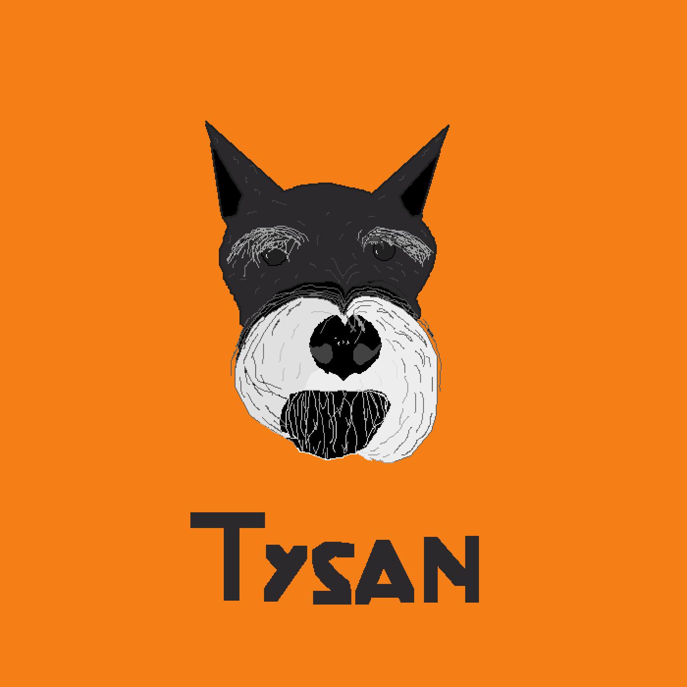 My Dog, Tysan by Pixel-OOF