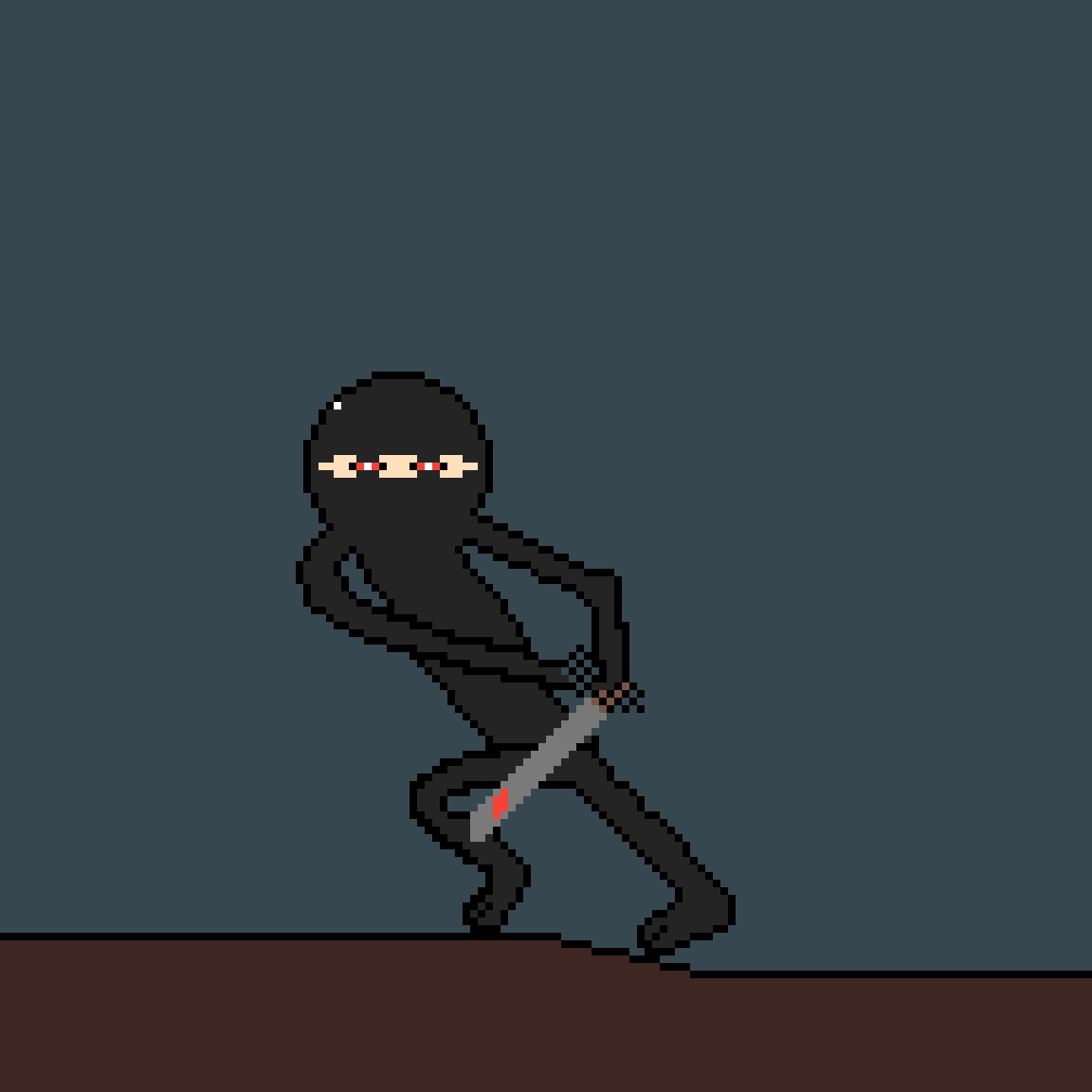 Red Eyed Ninja