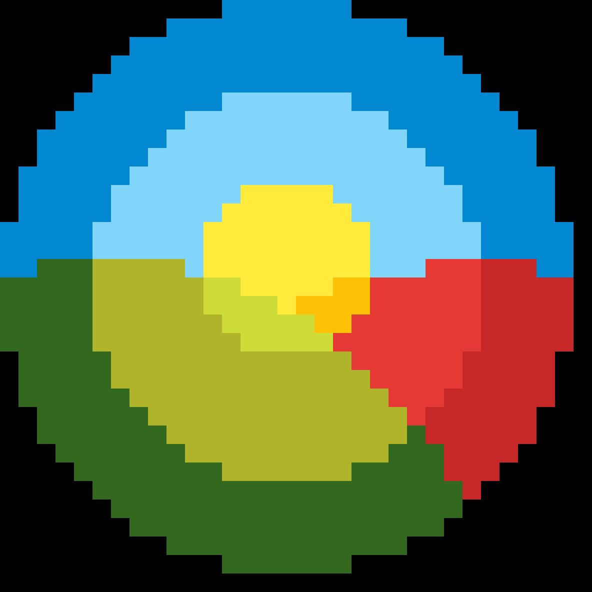 Sun and Scenery Logo by WenWanTin