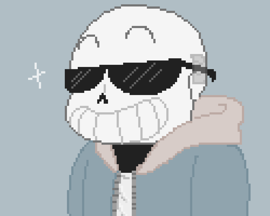 Sans with shades by ImTheHer0