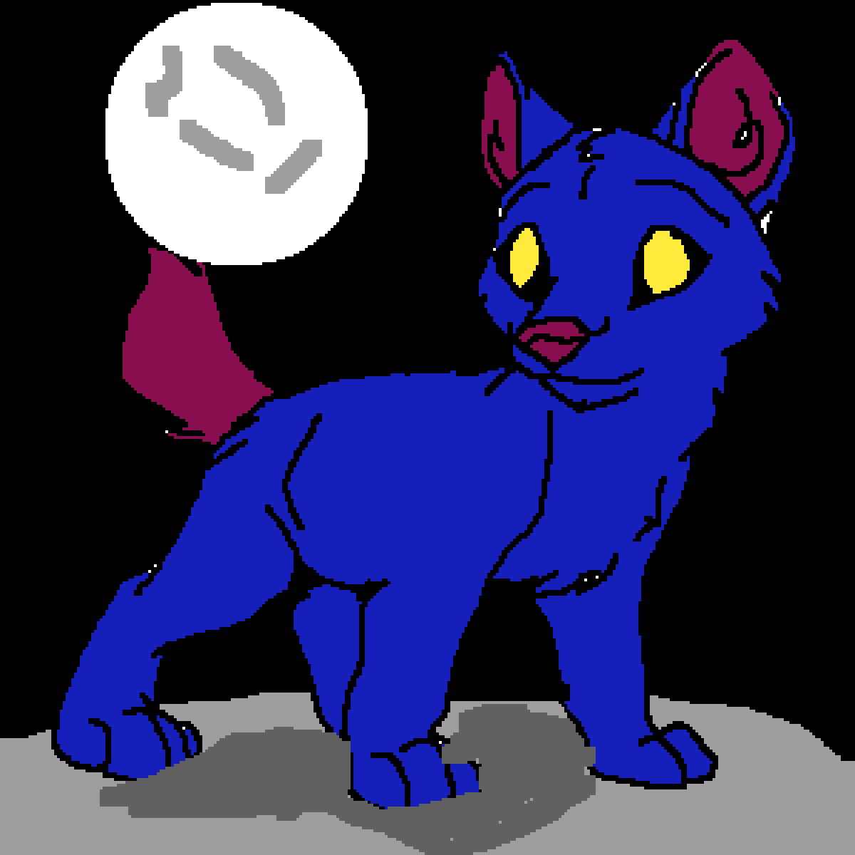 this is tj my wolf pup by shewolf04