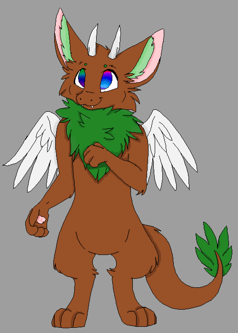 main-image-Leaf Dragon hybrid  by KittenGamer