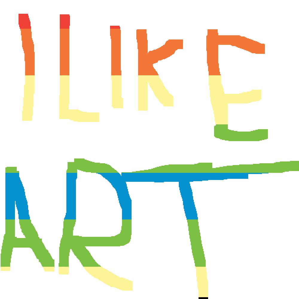 I LIKE ART by Damiantubepixel