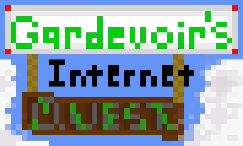 Gardevoir's Internet Quest logo by Spook-Master