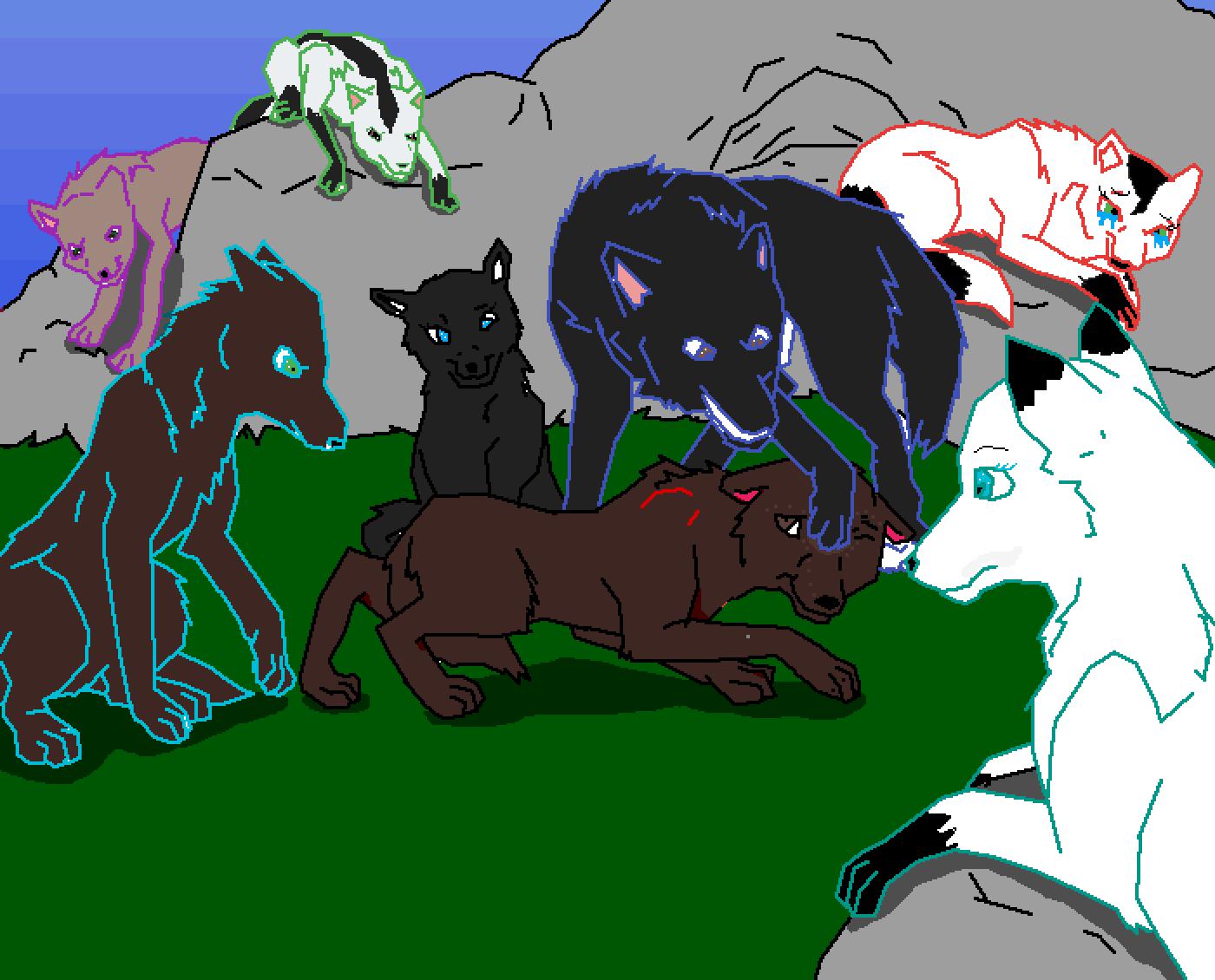 Wolfpack by Tysondagreat