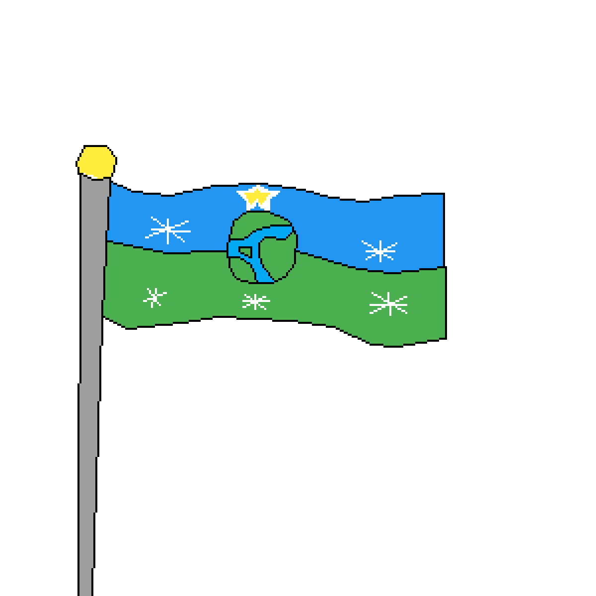 flag of the earth republic by mum-gay