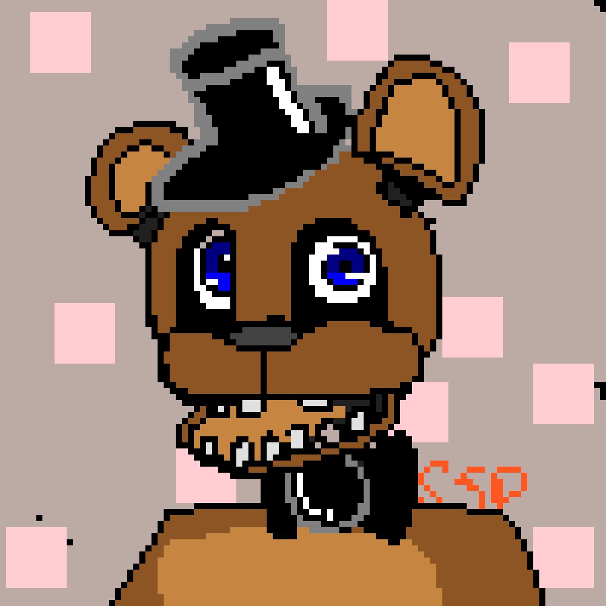 Freddy fazbear!-Fnaf by Subwayspeedssp