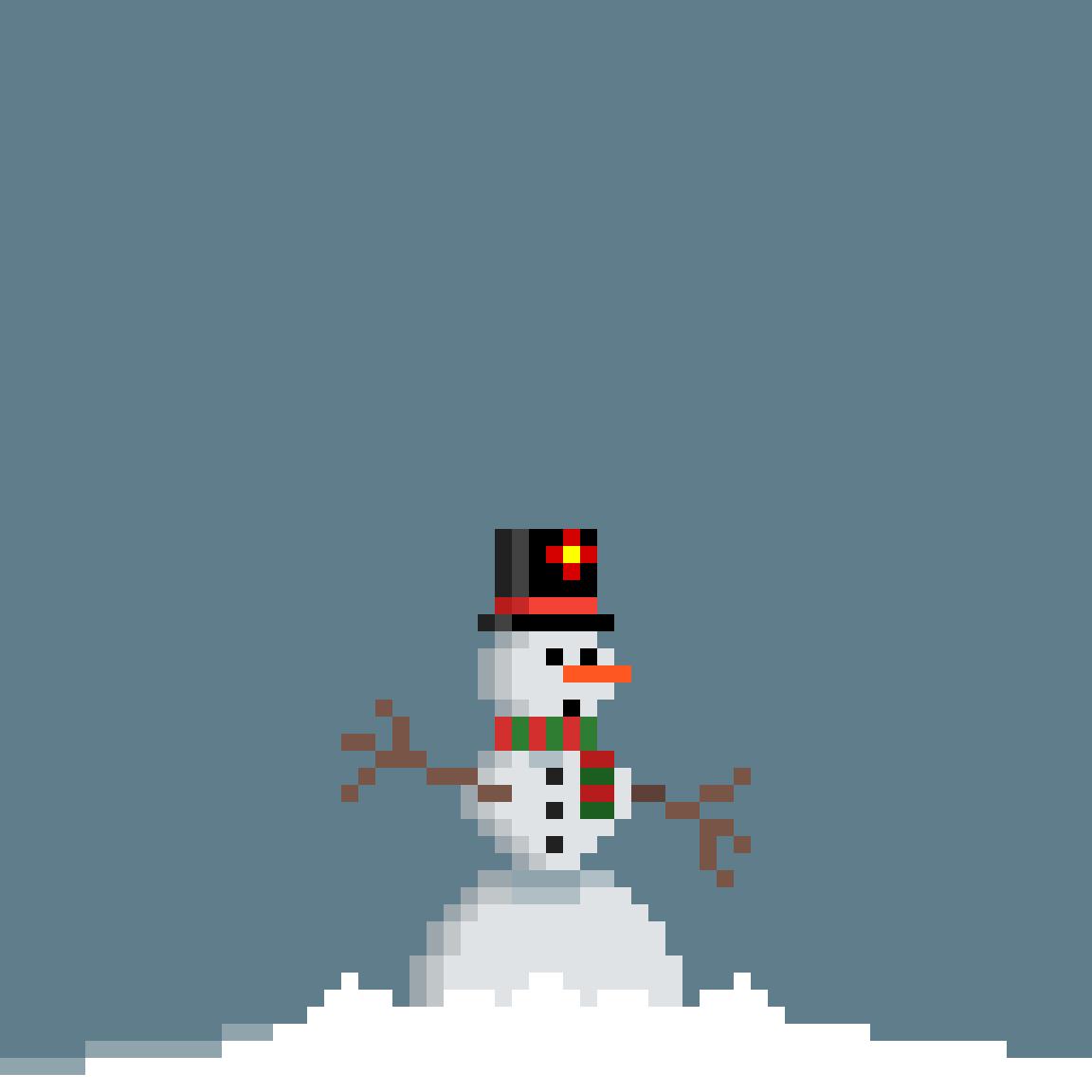 Little Snowman by Faciane