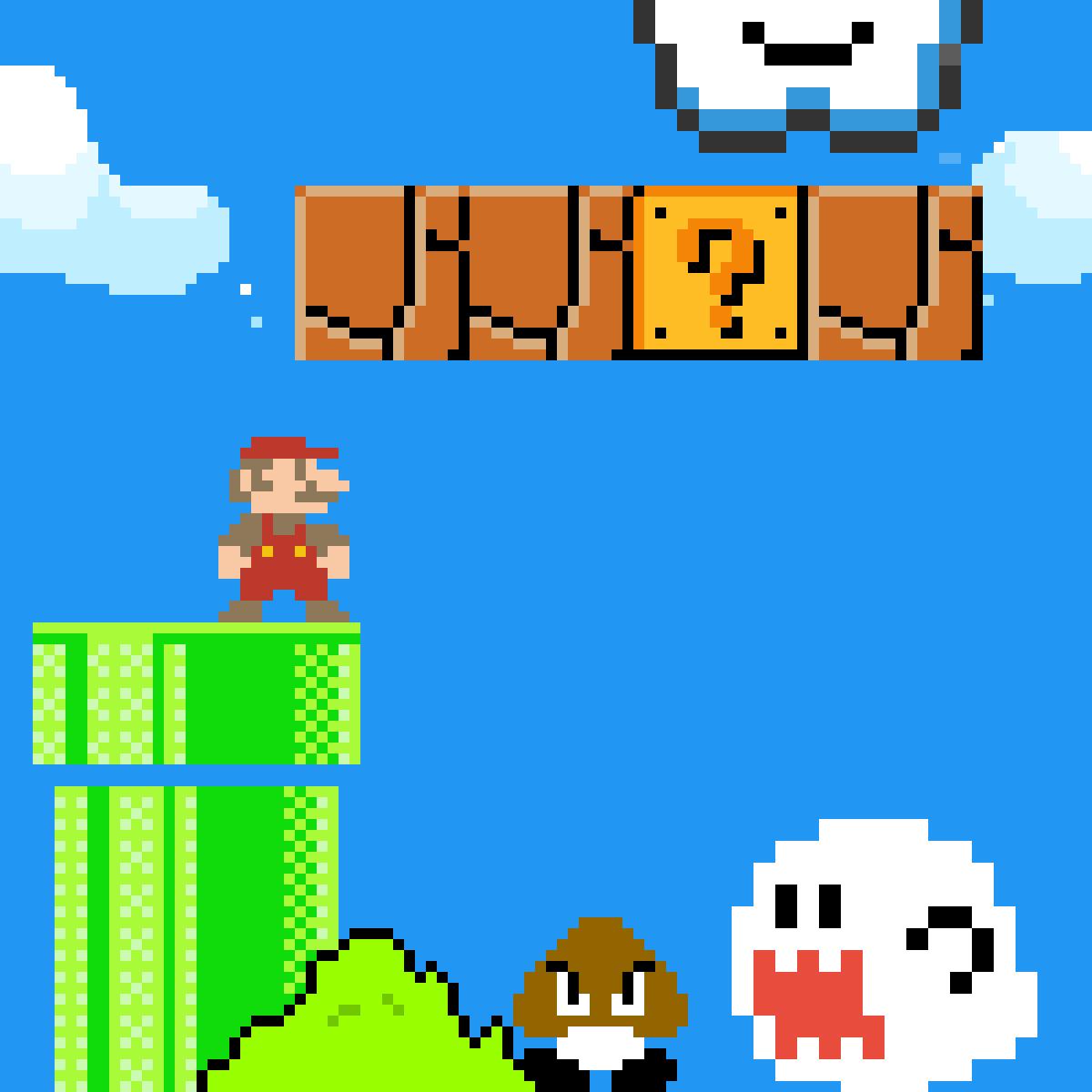 Super Mario by Mikachuu