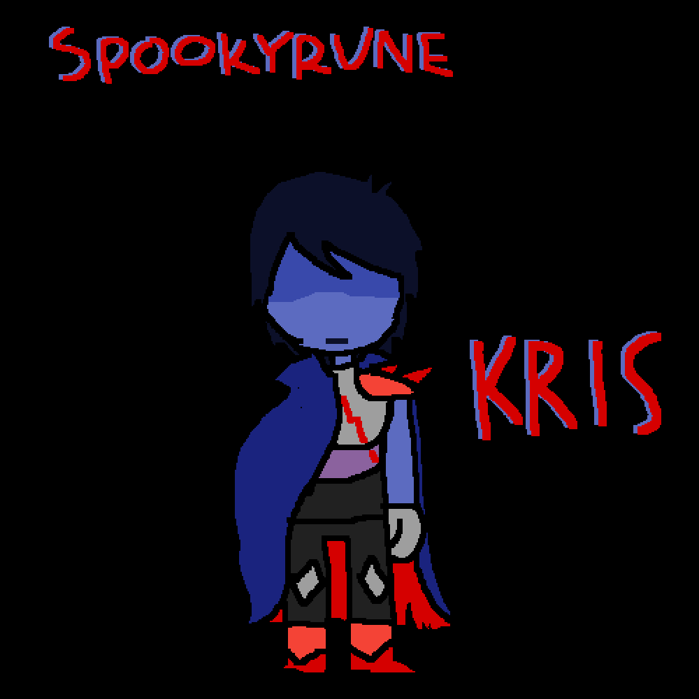 Spookyrune Kris by Unsolvable