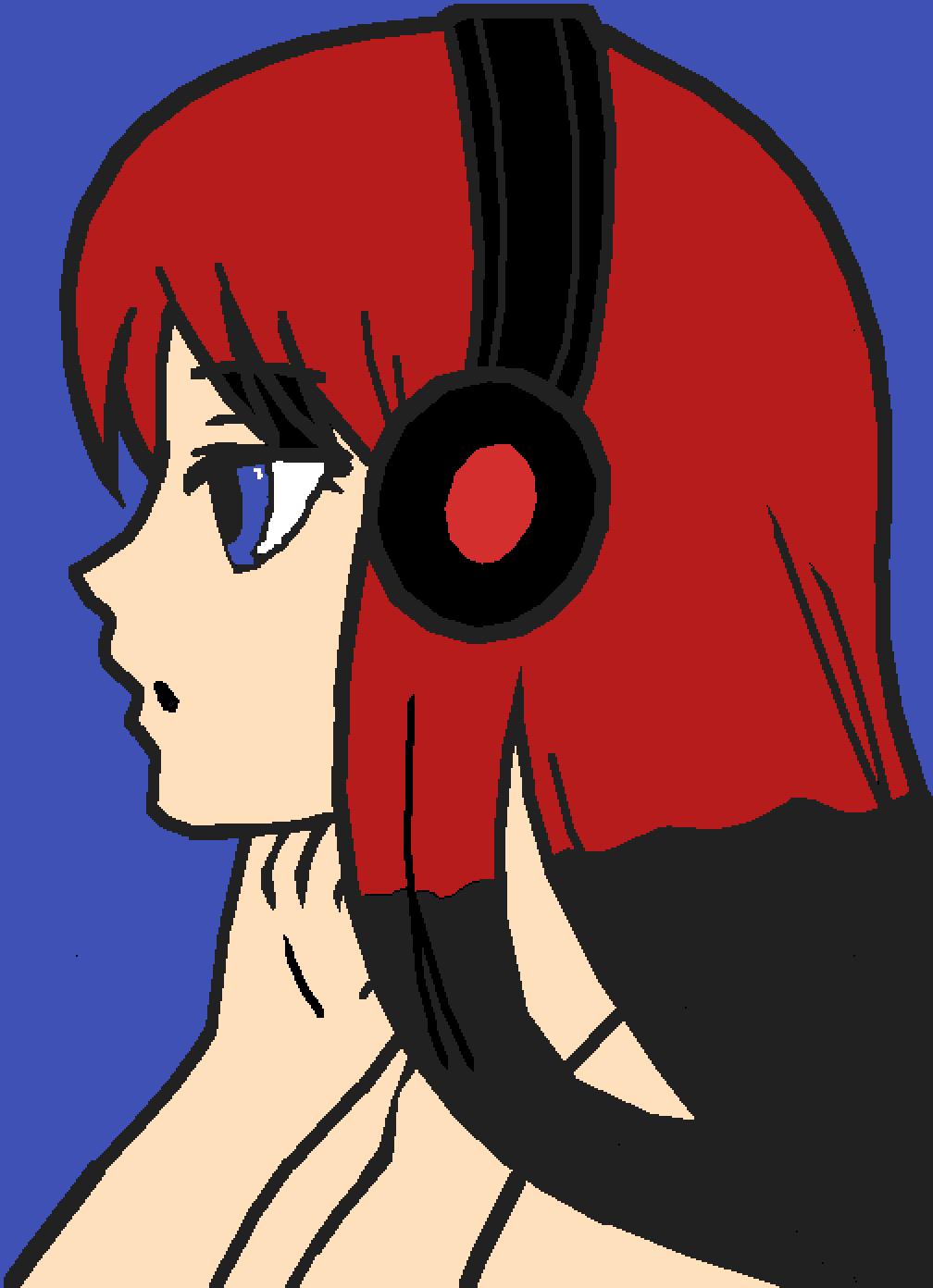 sad girl by Mermorgan