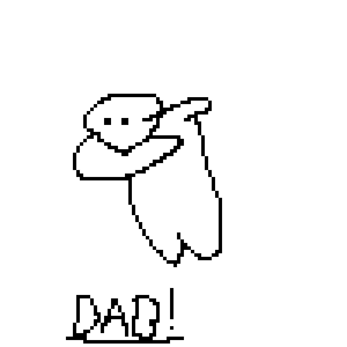 dabbing man by goathipassword