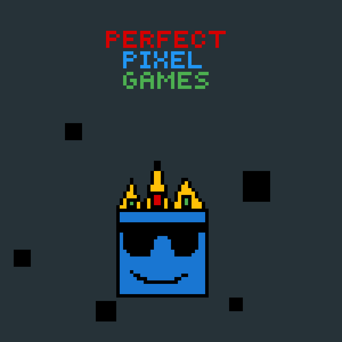 Perfect Pixel Games Logo by Alex-the-Boss