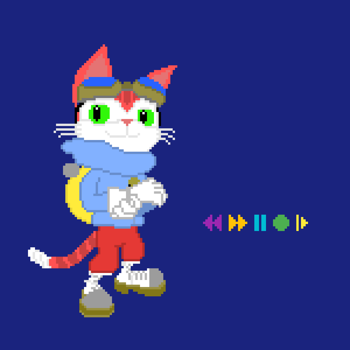 main-image-Blinx the Timesweeper (WIP)  by ToxicBobcat