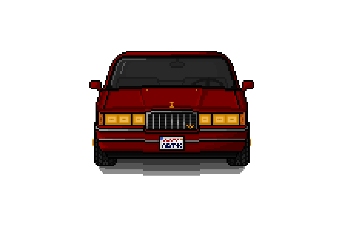 Pixilart 1990 Lincoln Town Car Lowrider By Dipster41