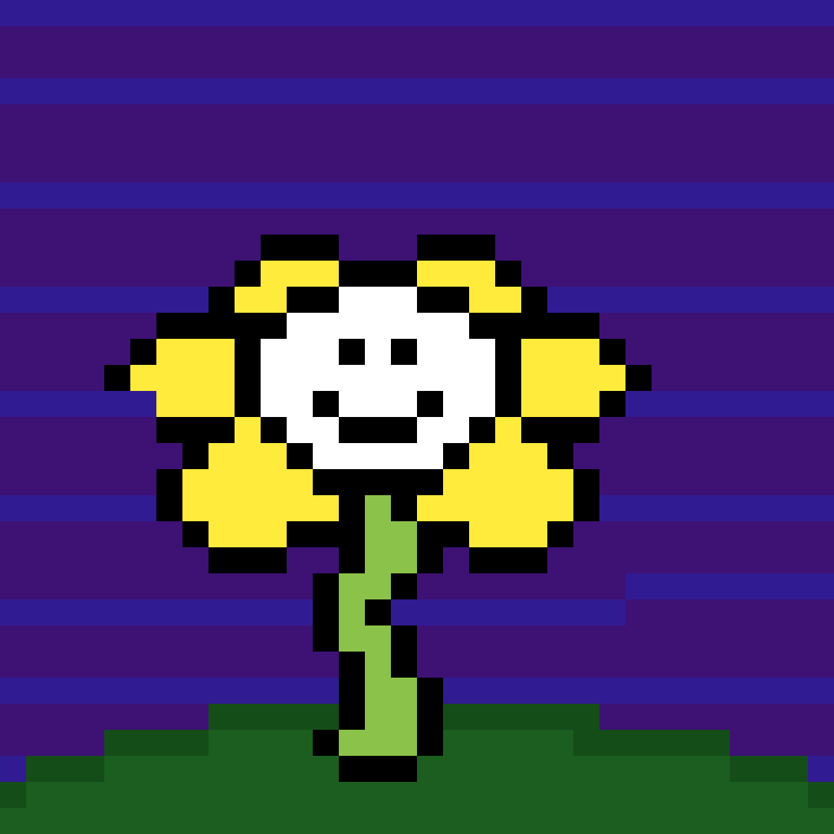 flowey the flower by jjthemagicfox