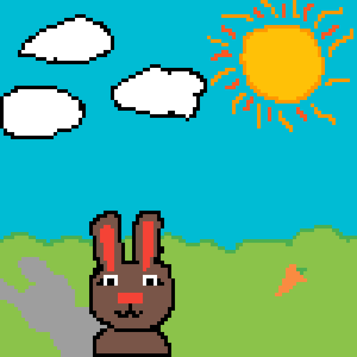 Pixilart Pixelart Lapin Sabrina Carrillo Brito By Anonymous