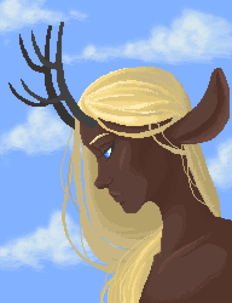 main-image-Deer-Boy  by LoneWanderer