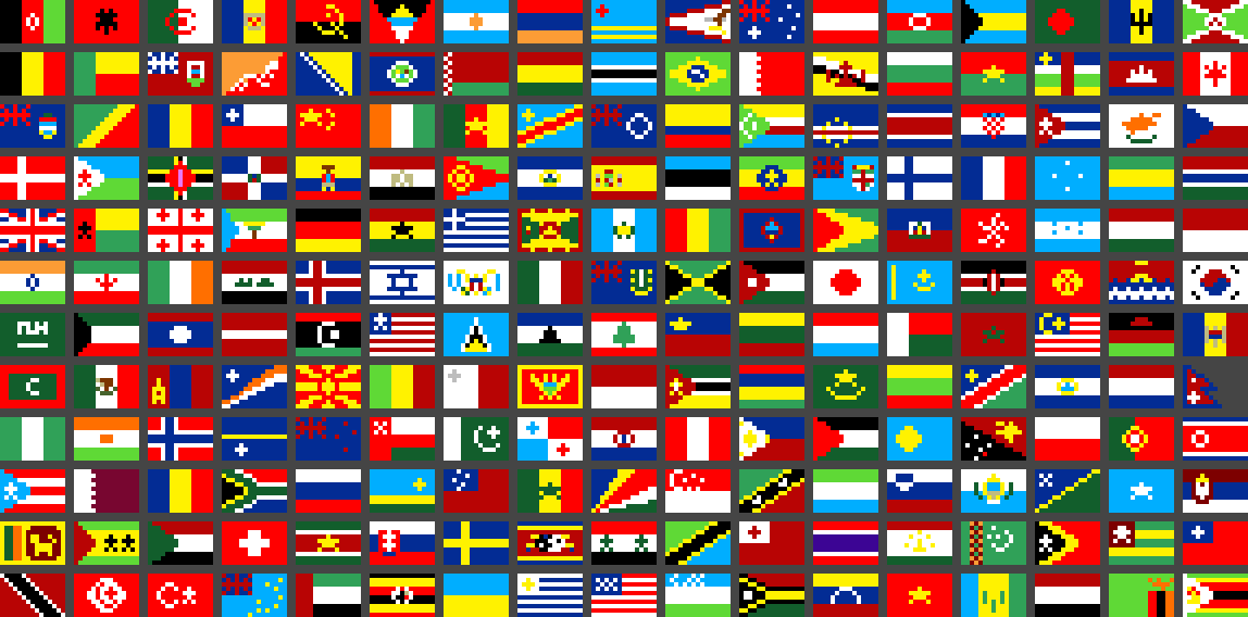 Count the flags by BullzEye731