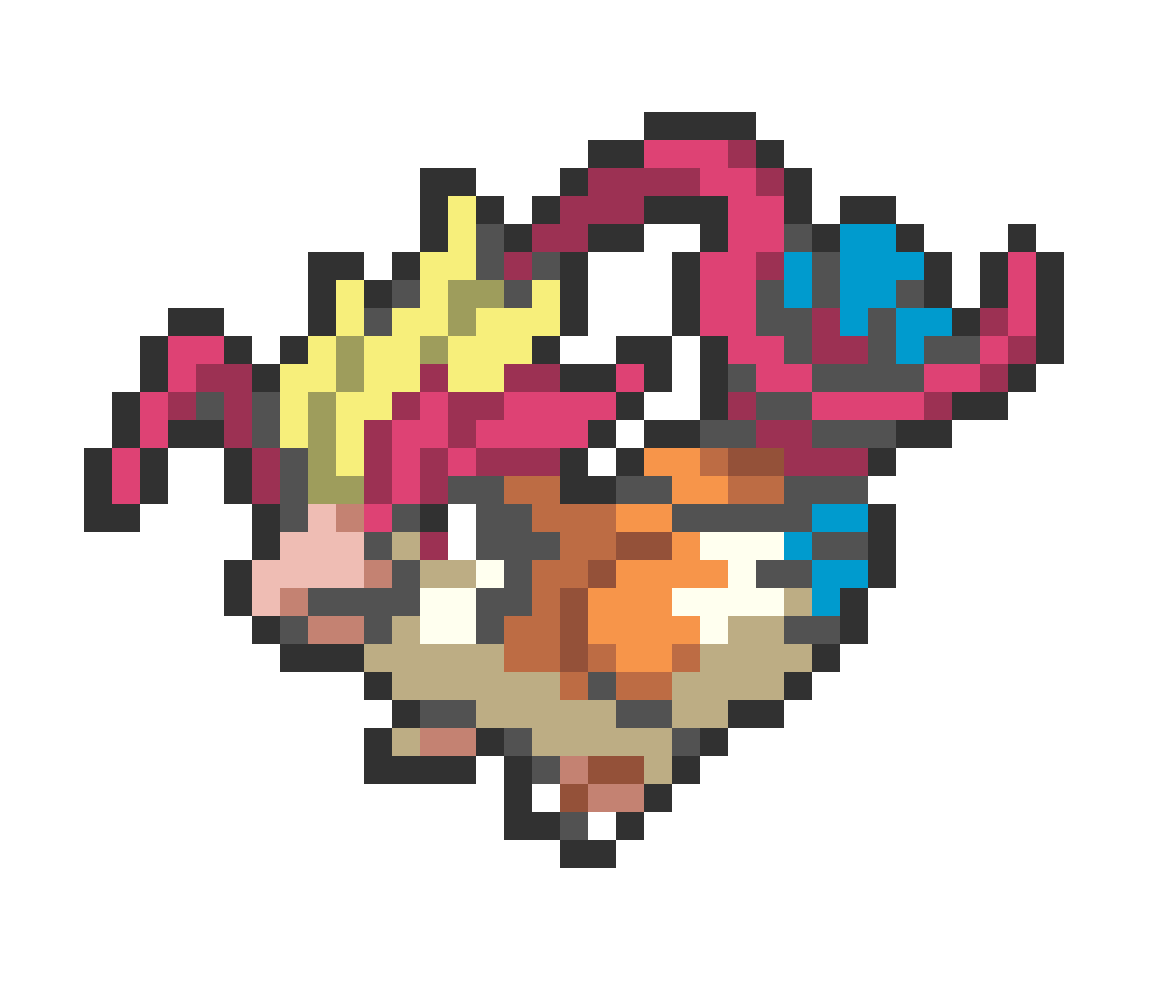 #018 Mega Pidgeot Mini Sprite by Andruru