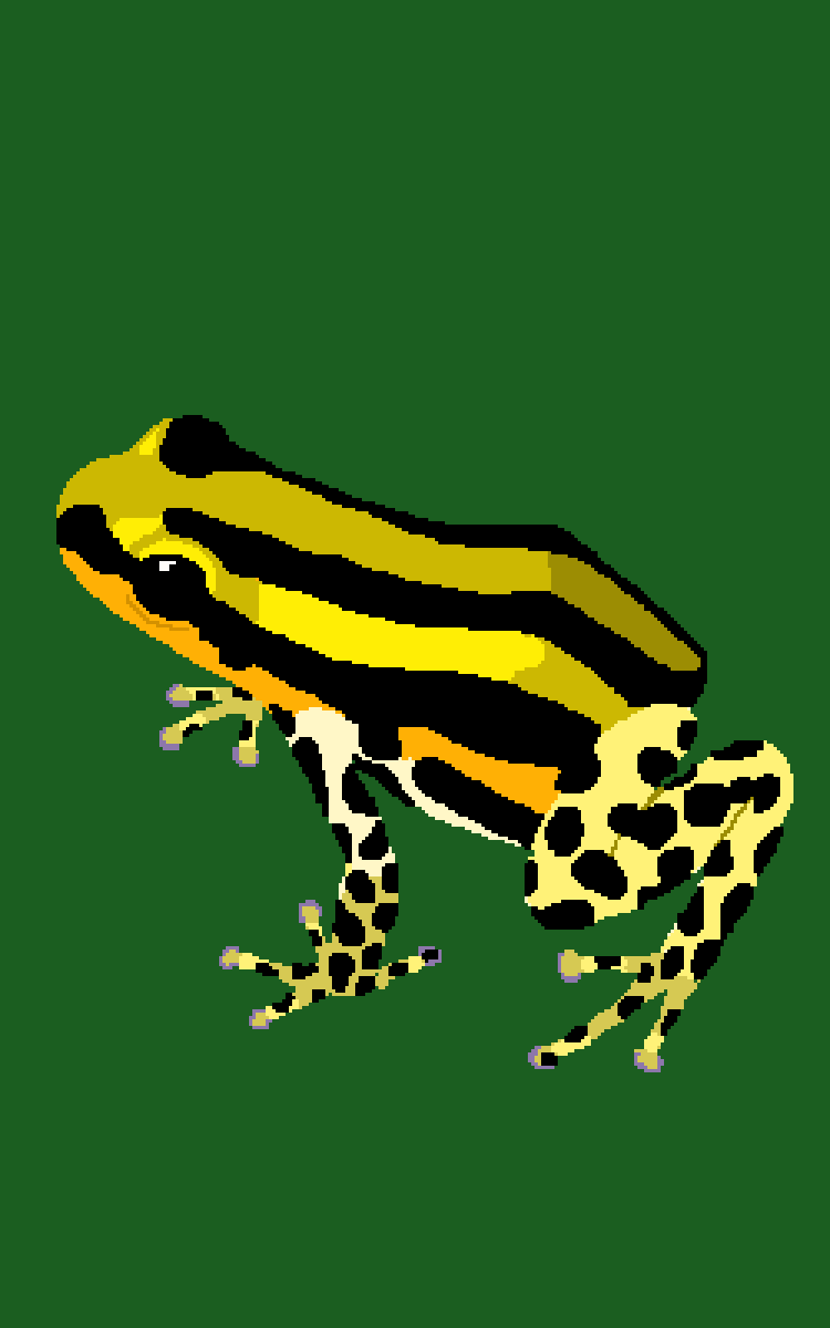 part one of my frog series  by Beansbeans