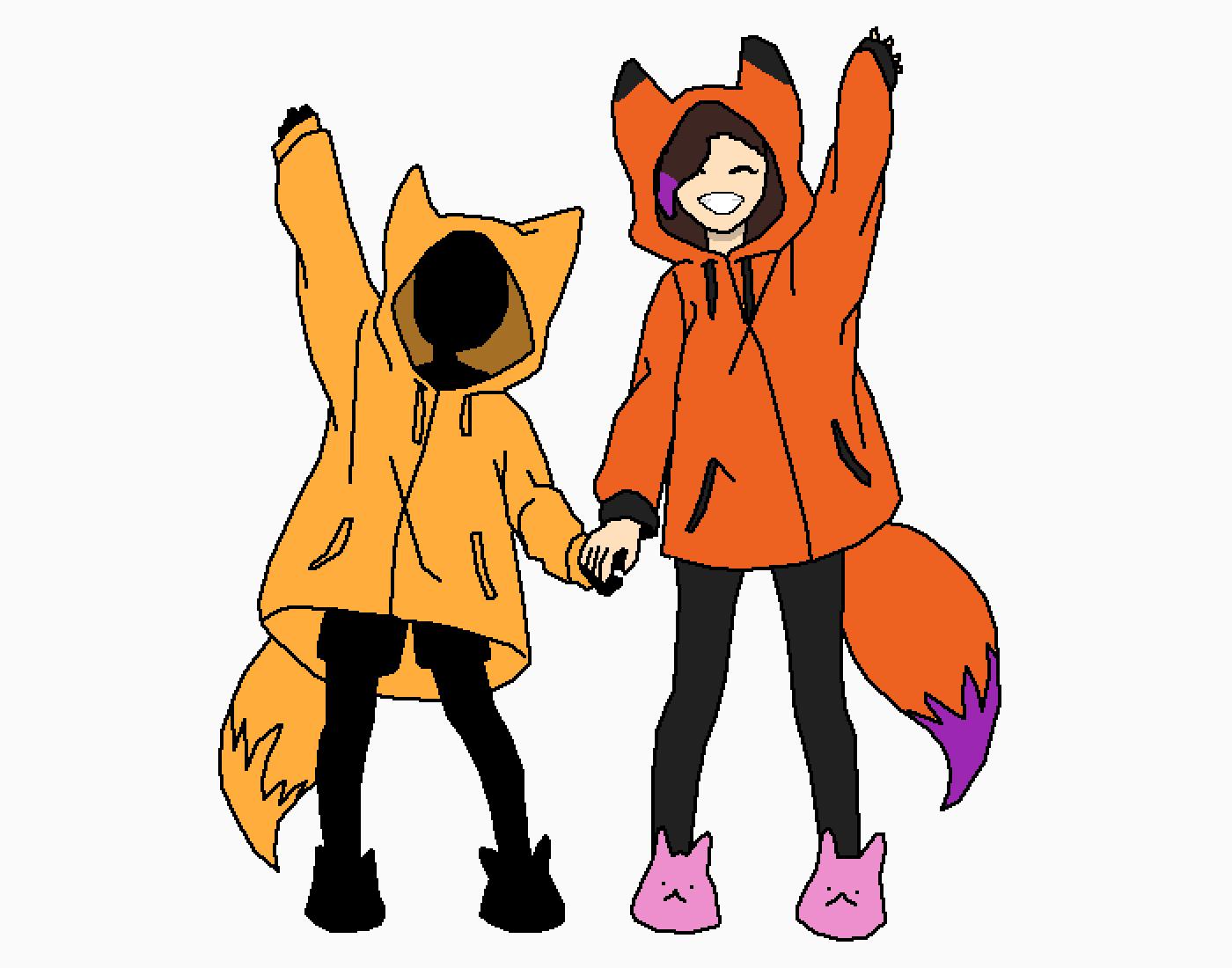 fox onesies! by PunkinNut