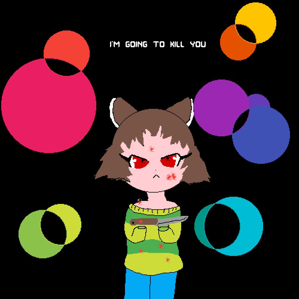 main-image-chara will k*ll you  by 23kittycat