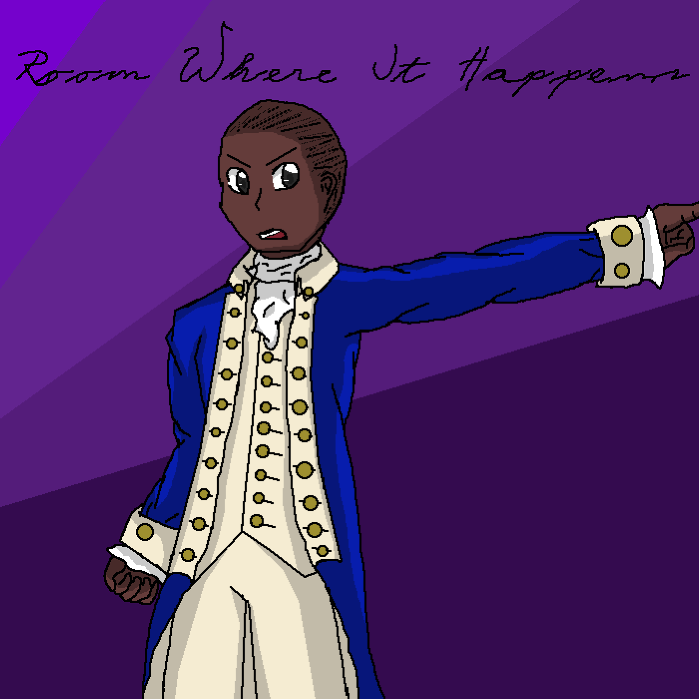 Aaron Burr Wants To Be in the Room Where It Happens by ItsXtheEditor