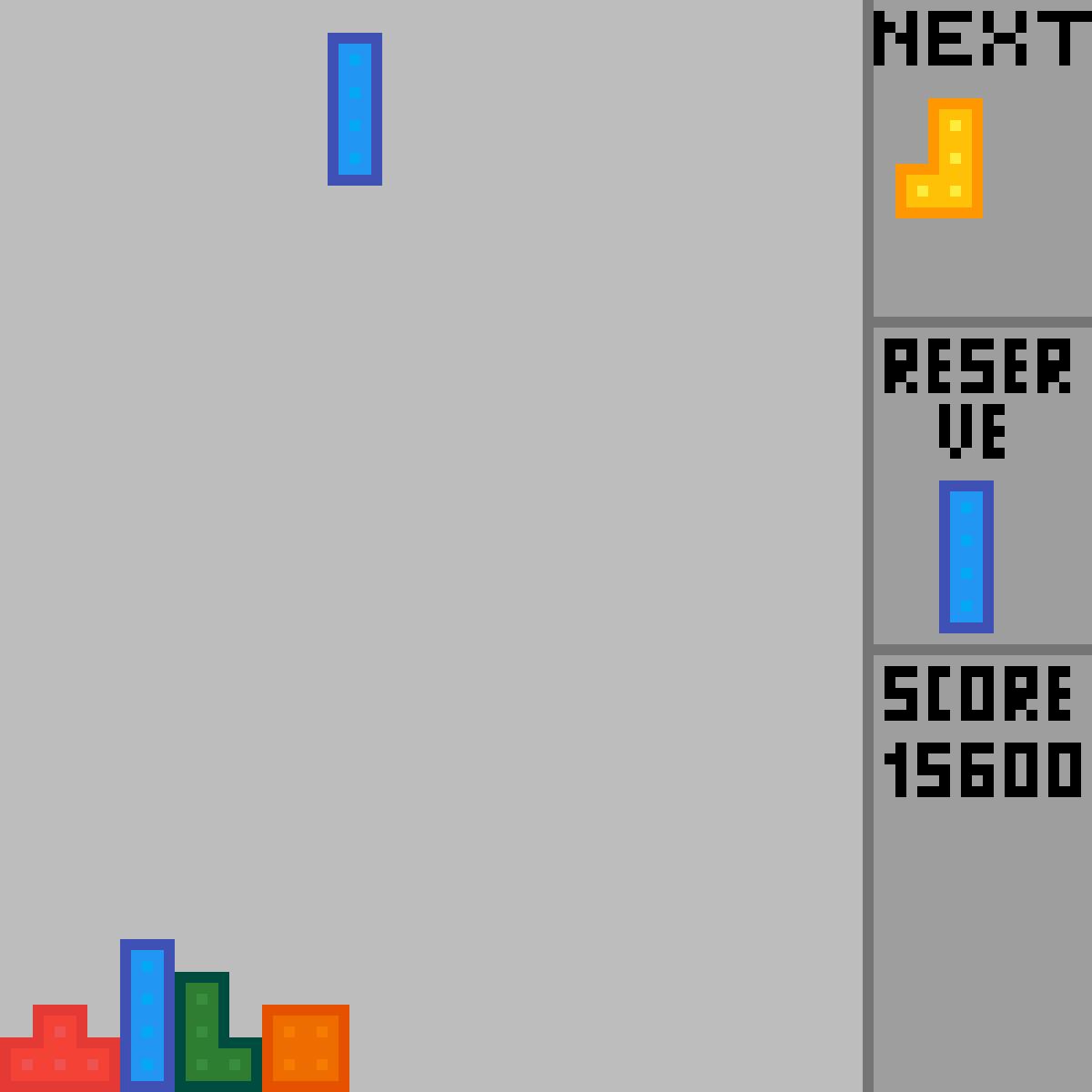 Tetris by PicassoDuBled