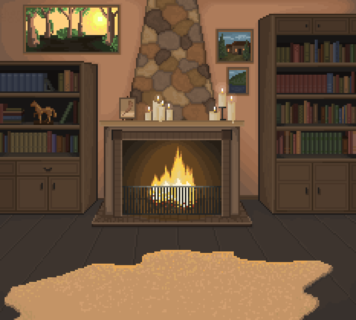 Fireplace by Charly-Fox