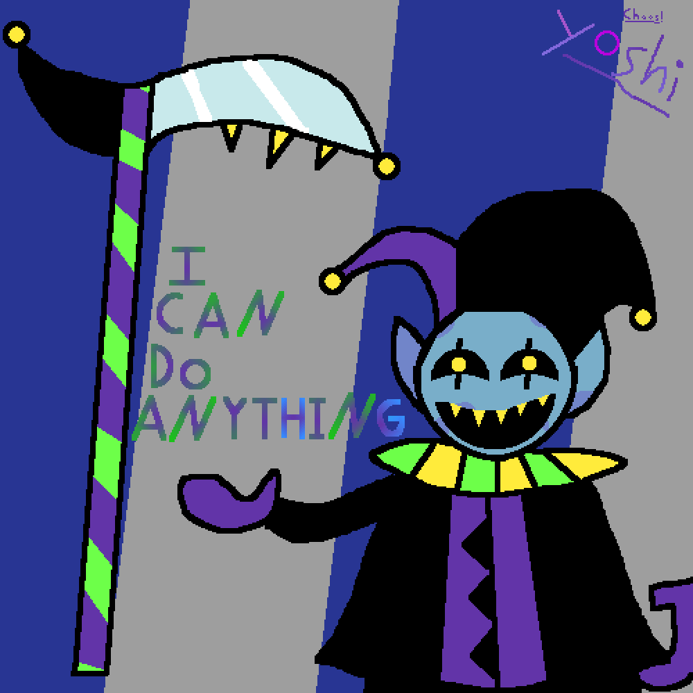 Jevil by Just-a-Yoshi