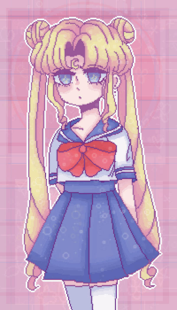 main-image-☾sailor moon doodle☽  by sighs